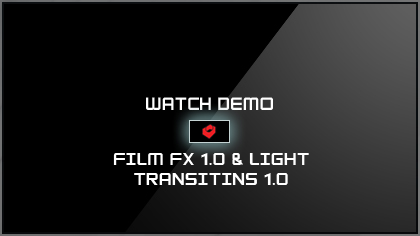 Watch Film FX 1.0 & Light Transitions 1.0 Demo